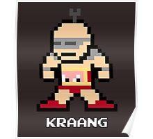 8-Bit TMNT Kraang Poster
