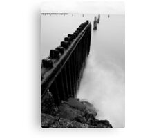all lined up Canvas Print