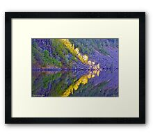 Audiemus - my walking with Lord  , Blessing color , happiness and peace. Amen. by Brown Sugar.Favorites:  9 Views: 491.thanks !!! Framed Print