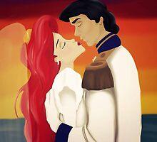 Ariel - Sunset Kiss by Bianca Galasso