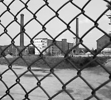 Lowell, Massachusetts - Factory by Frank Romeo