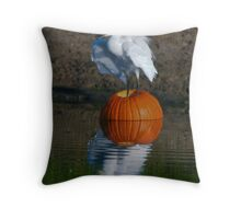Giving Thanks.  . . . . . . for my new nest Throw Pillow