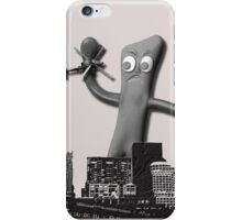 When Gumby Attacks iPhone Case/Skin