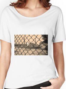 Lowell, Massachusetts - Factory Women's Relaxed Fit T-Shirt