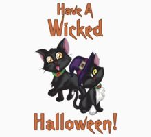 A Wicked Halloween Kids Tee