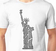Statue of Liberty Print  Unisex T-Shirt