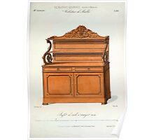 Le Garde Meuble Desire Guilmard 1839 0323 High Style Case Furniture Interior Design Poster