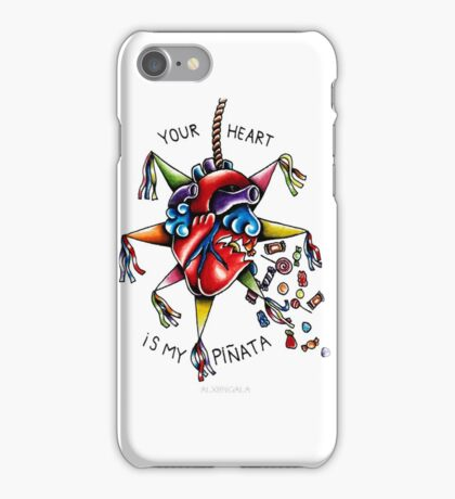 Your Heart is My Piñata iPhone Case/Skin
