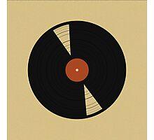 Warm Vinyl Photographic Print