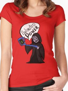Unlimited Power! Women's Fitted Scoop T-Shirt