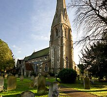 St. James's Church, Weybridge by Rachael Talibart