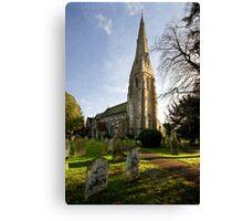 St. James's Church, Weybridge Canvas Print