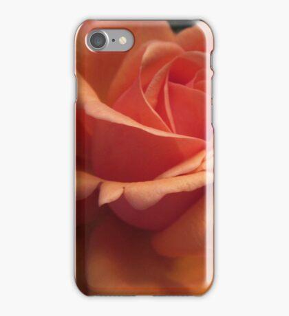 Orange Downton Abbey Rose iPhone Case/Skin