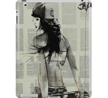 sk8er gurl iPad Case/Skin