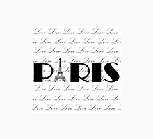 Paris on Repeating Love Unisex T-Shirt