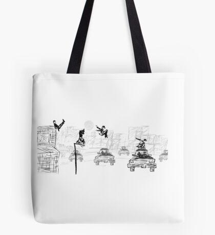 Pedestrian Parkour Tote Bag