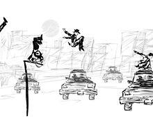 Pedestrian Parkour by dcaleb