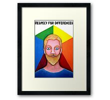 Respects For differences  Framed Print
