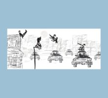 Pedestrian Parkour One Piece - Short Sleeve