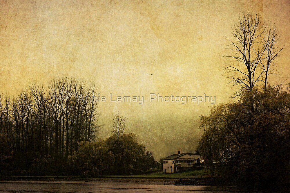 Farmhouse on the Lake by Annie Lemay  Photography
