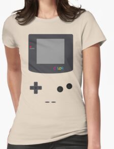 Gameboy Color shirt Womens Fitted T-Shirt