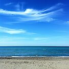 Blue as the sky and the sea in the summer by Ale Di Gangi