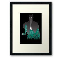 Gotham's Knight Framed Print