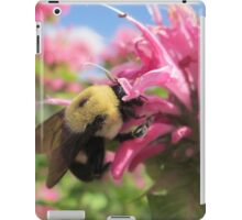 Bumble Bee in Bee Balm iPad Case/Skin