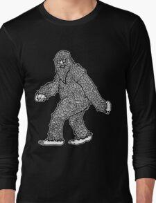 Psychedelic Sasquatch  Long Sleeve T-Shirt
