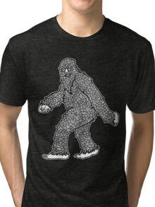 Psychedelic Sasquatch  Tri-blend T-Shirt