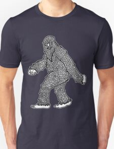 Psychedelic Sasquatch  Unisex T-Shirt
