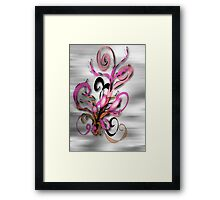 Magic Flowers © Framed Print