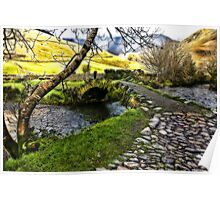 Bridge Approach  - Wasdale Head Poster