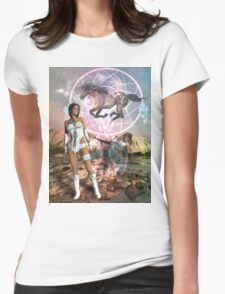 """LOMAHONGVA"" - Beautiful clouds arising. Womens Fitted T-Shirt"