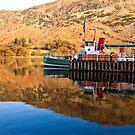 Ullswater Steamer by Trevor Kersley