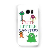 Cute Little Monsters Samsung Galaxy Case/Skin