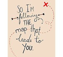 Maps (Maroon 5) Photographic Print