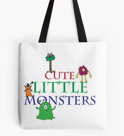 Cute Little Monsters Tote Bag
