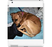 Snuggling Mom's Hoodie iPad Case/Skin