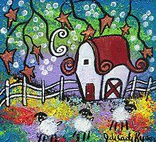 Three, Little Sheep by Juli Cady Ryan