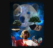 Hippy Jesus Space Christmas T-Shirt
