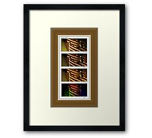 lily throughout the day Framed Print