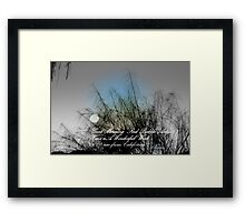 GOOD MORNING RED BUBBLE ARTISTS!! 6:00 am California Framed Print