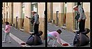 Street Performer - Lecce Italy by Debbie Pinard
