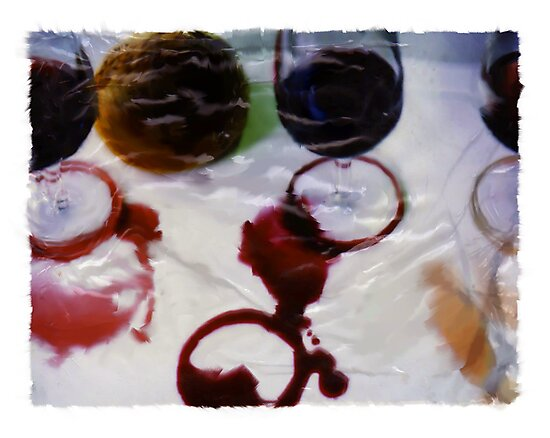Red Wine Spill by e-nigma-edition