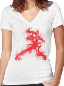 Taki Women's Fitted V-Neck T-Shirt