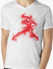 Taki Mens V-Neck T-Shirt