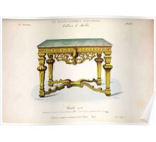 Le Garde Meuble Desire Guilmard 1839 0103 High Style Case Furniture Interior Design Poster