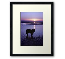 Touching Framed Print
