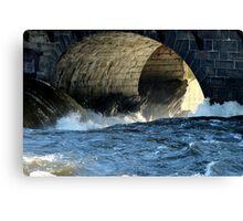 Morning Flood Canvas Print